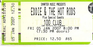 Eddie and the hotrods